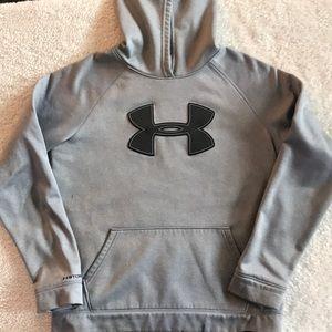 Under Armour sweatshirt hoodie size YXL